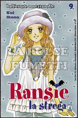 TURN OVER #   118 - RANSIE LA STREGA 9 BATTICUORE A MEZZANOTTE