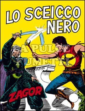 ZENITH #   127 - ZAGOR  76: LO SCEICCO NERO