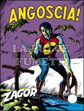 ZENITH #   136 - ZAGOR  85: ANGOSCIA!