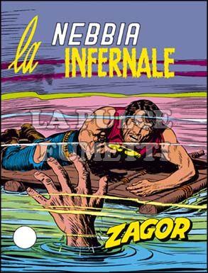 ZENITH #   140 - ZAGOR  89: LA NEBBIA INFERNALE