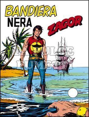 ZENITH #   149 - ZAGOR  98: BANDIERA NERA