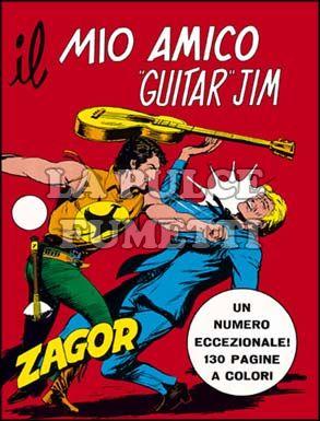 ZENITH #   151 - ZAGOR 100: IL MIO AMICO GUITAR JIM              A COLORI