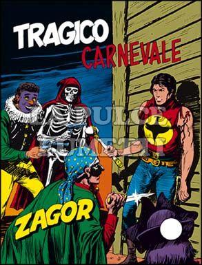 ZENITH #   152 - ZAGOR 101: TRAGICO CARNEVALE