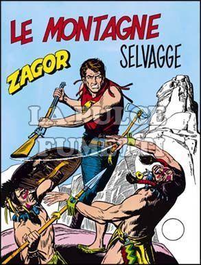 ZENITH #   156 - ZAGOR 105: LE MONTAGNE SELVAGGE