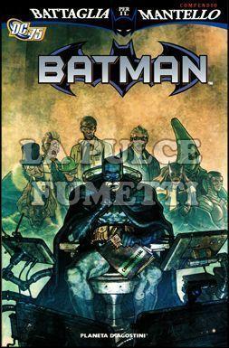 BATMAN: BATTAGLIA PER IL MANTELLO COMPENDIO