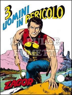 ZENITH #   161 - ZAGOR 110: TRE UOMINI IN PERICOLO