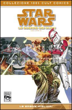 100% CULT COMICS - STAR WARS LE GUERRE DEI CLONI 5: LE SPADE MIGLIORI