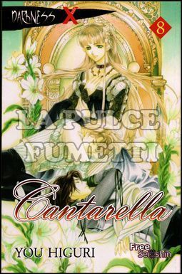 CANTARELLA #     8 - DARKNESS X