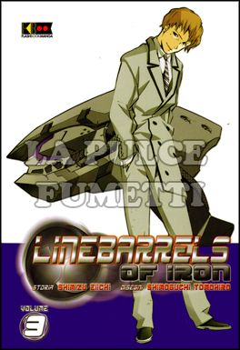 LINEBARRELS OF IRON #     9