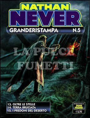 NATHAN NEVER GRANDE RISTAMPA #     5