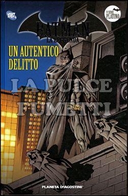 BATMAN LA LEGGENDA #    94: UN AUTENTICO DELITTO