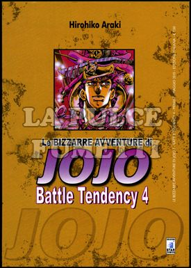 LE BIZZARRE AVVENTURE DI JOJO #     7 - BATTLE TENDENCY  4 (DI 4)