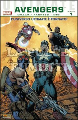 ULTIMATE COMICS AVENGERS  #     1