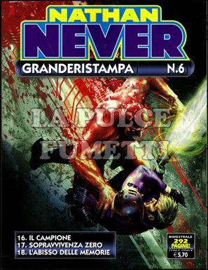 NATHAN NEVER GRANDE RISTAMPA #     6