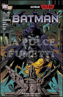 BATMAN #    36 - RINATO