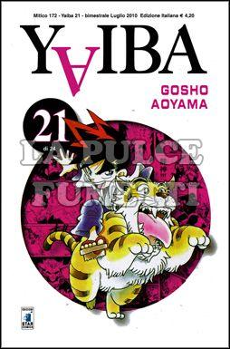 MITICO #   172 - YAIBA 21