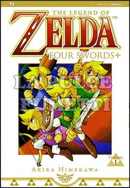 ZELDA COLLECTION #     4 - FOUR SWORDS 1 (DI 2)