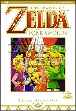 ZELDA COLLECTION #     5 - FOUR SWORDS 2 (DI 2)