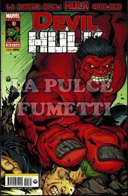 DEVIL E HULK #   165 - LA CADUTA DEGLI HULK PROLOGO