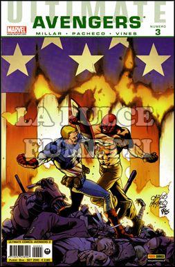 ULTIMATE COMICS AVENGERS  #     3