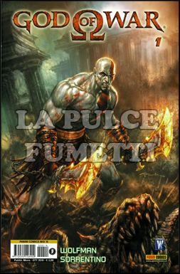 PANINI COMICS MIX #    14 - GOD OF WAR  1