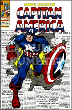 MARVEL COLLECTION #     4 - CAPITAN AMERICA  4