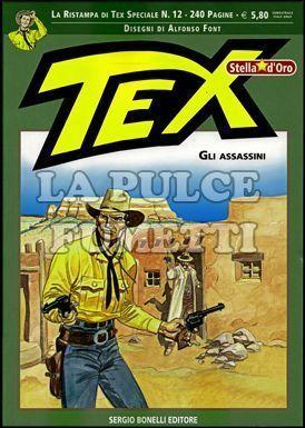 TEX STELLA D'ORO #    12: GLI ASSASSINI