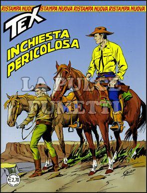 TEX NUOVA RISTAMPA #   264: INCHIESTA PERICOLOSA