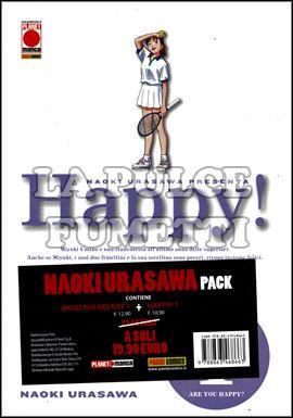 NAOKI URASAWA PACK - MONSTER DELUXE 1 + HAPPY 1