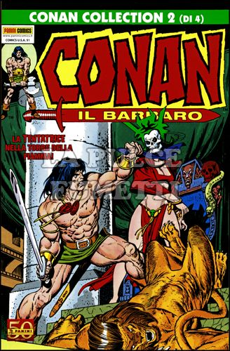 COMICS USA #    51 - CONAN COLLECTION - CONAN IL BARBARO 2