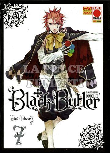 BLACK BUTLER #     7 - IL MAGGIORDOMO DIABOLICO - KUROSHITSUJI