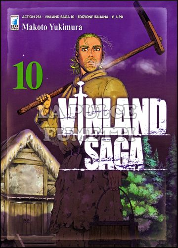 ACTION #   216 - VINLAND SAGA 10