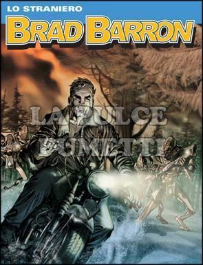 BRAD BARRON #    14: LO STRANIERO