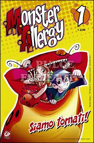 GP DELUXE #    13 - MONSTER ALLERGY 1: LA CASA DEI MOSTRI