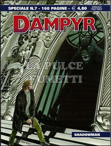 DAMPYR SPECIALE #     7: SHADOWMAN
