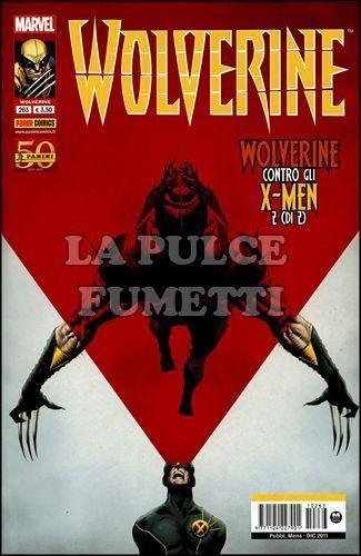 WOLVERINE #   263 - WOLVERINE CONTRO GLI X-MEN 2 (DI 2)