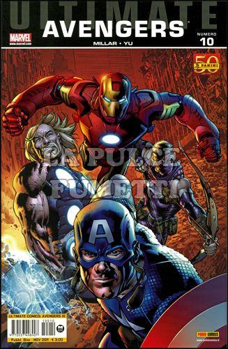 ULTIMATE COMICS AVENGERS  #    10