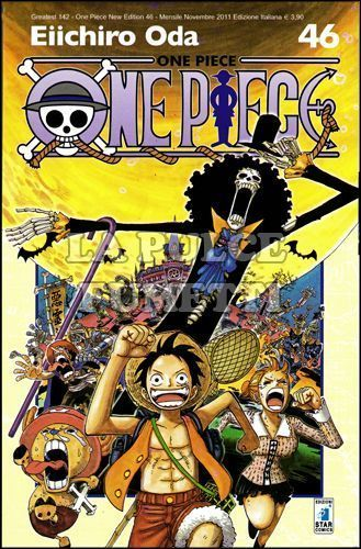 GREATEST #   142 - ONE PIECE NEW EDITION 46