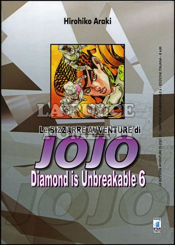 LE BIZZARRE AVVENTURE DI JOJO #    23 - DIAMOND IS UNBREAKABLE  6 (DI 12)