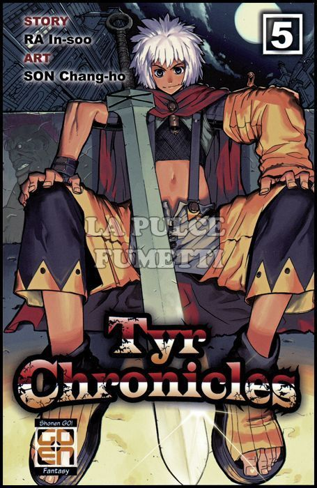 MANHWA COLLECTION #     5 - TYR CHRONICLES 5