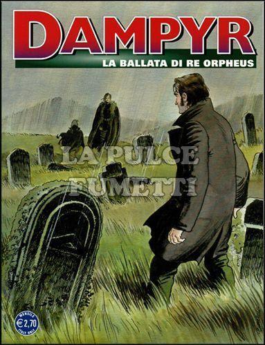 DAMPYR #   140: LA BALLATA DI RE ORPHEUS