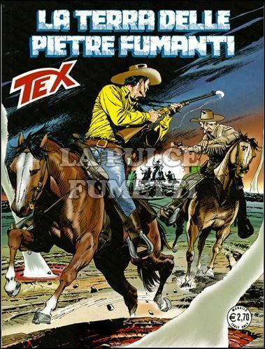 TEX GIGANTE #   613: LA TERRA DELLE PIETRE FUMANTI