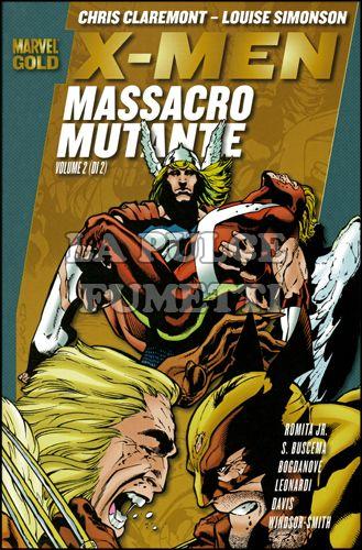 MARVEL GOLD - X-MEN: MASSACRO MUTANTE 2
