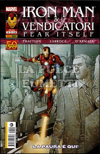 IRON MAN #    45 - E I VENDICATORI - FEAR ITSELF