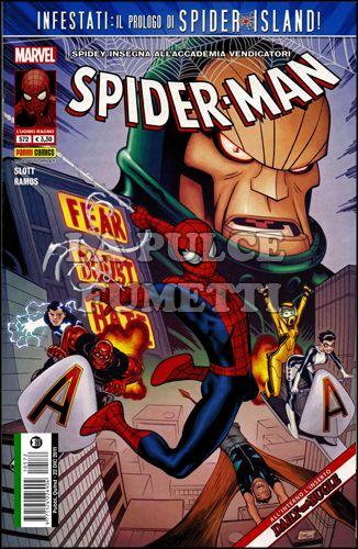 UOMO RAGNO #   572 - SPIDER-MAN - SPIDER ISLAND PROLOGO