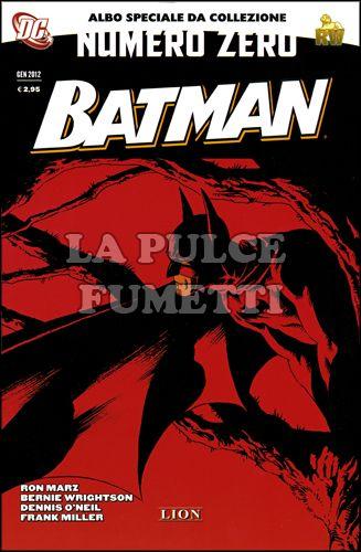 BATMAN NUMERO ZERO 0