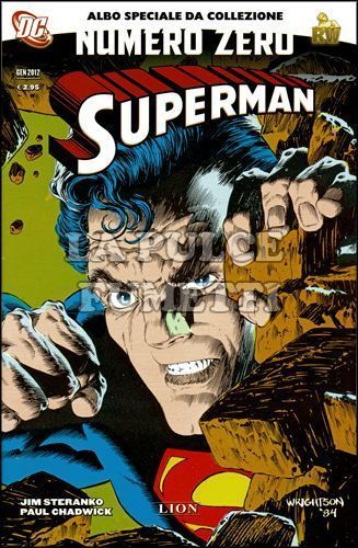 SUPERMAN NUMERO ZERO 0