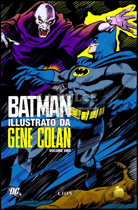 BATMAN ILLUSTRATO DA GENE COLAN
