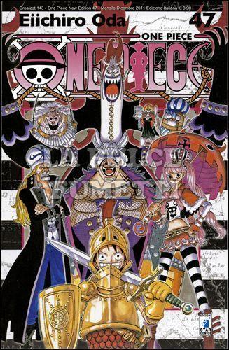 GREATEST #   143 - ONE PIECE NEW EDITION 47