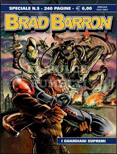 BRAD BARRON SPECIALE #     5: I GUARDIANI SUPREMI